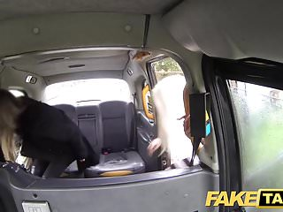 Vintage yellow cab logo - Fake taxi hot lesbian threesome in london cum stained cab