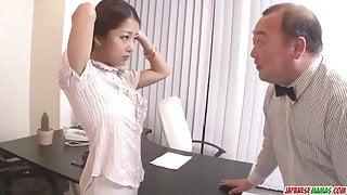 Satomi Suzuki dildo fucked and - More at Japanesemamas.com