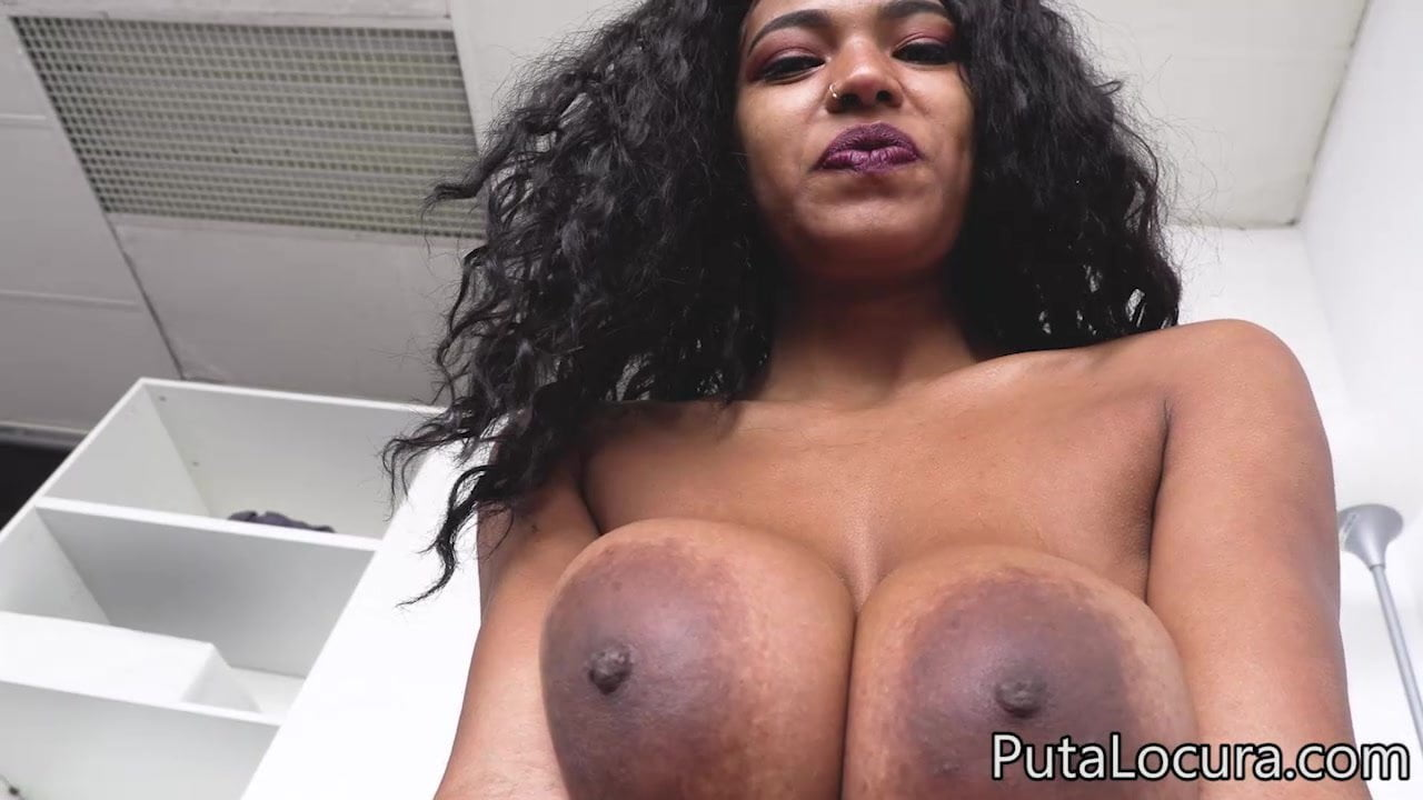 Big Natural Tits Brunette Solo