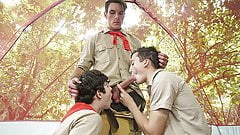Two Boy Scouts Punished For Being Lazy