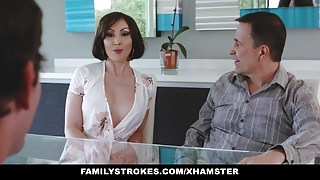FamilyStrokes - Kinky Aunt Fucks step-nephew