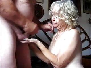 Granny sucks porn Granny sucks cock
