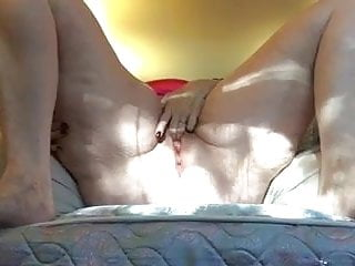 Cat ly nude - Mature woman is masturbating lying on her back