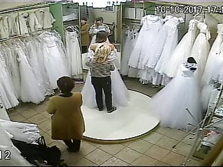 South asian wedding dresses Spy camera in the salon of wedding dresses 8 sorry no sound