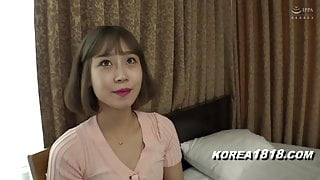 Korean girl gets fucked by Japanese dummy