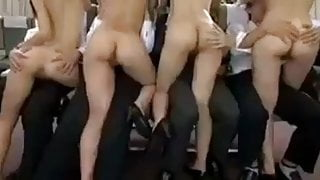 Oriental Airlines Orgy