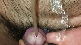 Naked pissing for you!