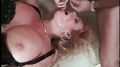 Gangbang Archive Busty MILF interracial orgy