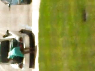 Ebony teen panty - Ebony flashing no panties