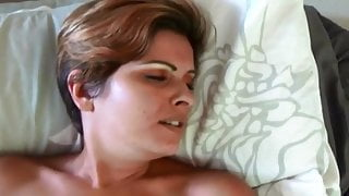A Sex Session With An Arousing Cum Inside Her Big Pussy