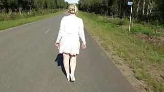 My ass under the pink skirt