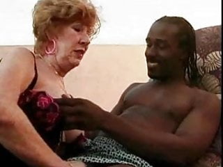 Nudist caribbean Old lady banged by caribbean stud