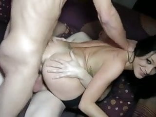 Bitch fucking group Hot bitch fucked by two cocks 3 facials