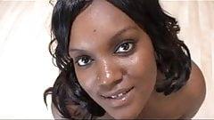 ebony chick  gangbanged