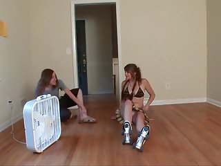Roller derby porn - Roller skating teen with big tits