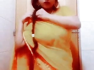 Nude saree woman Indian saree girl nude