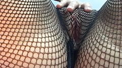 Catch my golden pussy in your fishing net