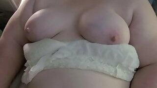 Wife has two massive shaking orgasms