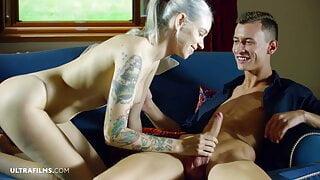 ULTRAFILMS – Tattooed Girl Arteya Luring a Guy In