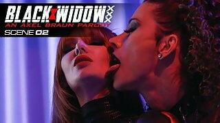 WickedPresents - Black Widow Begs For Petra's Cock