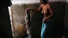 Bracia żona pranie nago