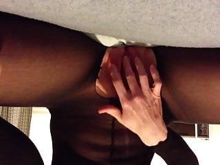 Sailor moon penis through body Dildo loving through black body stocking