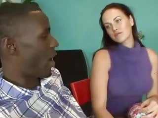 Swinger how to suck Wife showing husband how to suck black cock