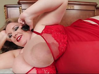 Tit and areola Pregnant bbw with giant tits and areolas