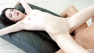 Mia Evans gets creampied very well by All Internal
