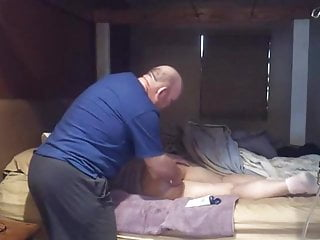 Spanking adult enema Naughty girl gets strap and enema