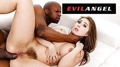 EvilAngel - Lena Paul Fills All Holes With BBC