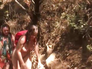 Candid nudes - Candid nude hikers in cali
