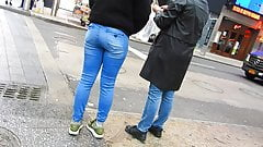 sexy teen candid ass  in jeans