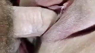 Cheating BBW Slut Gets Creampied