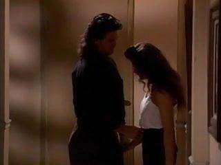 Vintage enamel on steel bakeware Selena steele blows a guy in the hallway