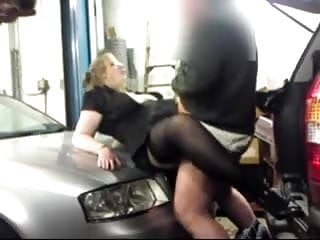 Garage door bottom weatherseal - Fucking in a garage