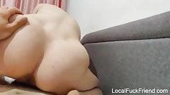 bikini horny pregnant roommate rides my cock multtiple orgasms