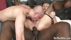 Do The Wife - Cuck Licks as Wife Takes Anal BBC, Compilation