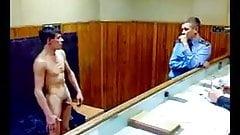 soldiare nude military police caught