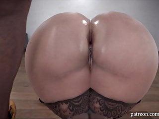 Interracial hentai Big ass blonde milf - anal interracial