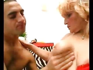 Twinks in speeedos - Granny straps one on and busts her twinks ass