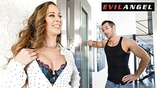 EvilAngel - Busty Landlord Comes To Collect From Tenant