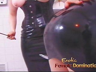 London escorts bdsm anal mistress dominatrix - Mature redhead dominatrix shows her new slave what pain is