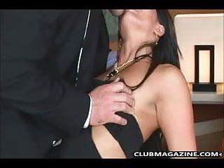 Club magazine porn - Mackenzee is on the sofa getting banged hard