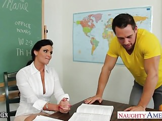 Chesty bondage - Chesty teacher phoenix marie take cock in classroom