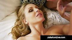 Mom I want to Fuck!? Julia Ann Sucks & Milks Her Step Son!