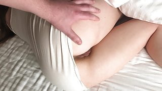 Woke Up Sister With A Hard Cock and Fucked Insolently