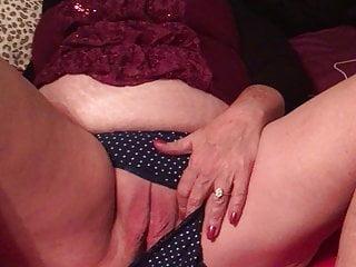 Boobs big on grandma Checking up on grandma