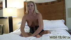 You have to watch while my big cocked BF pounds me