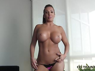 Shemales swallows own cum - Swallow your own cum you little piggie cei